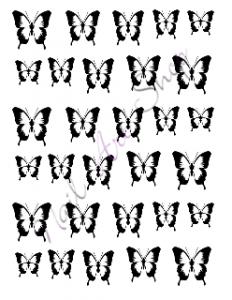 Vodolepka pro nail art VVZ-39