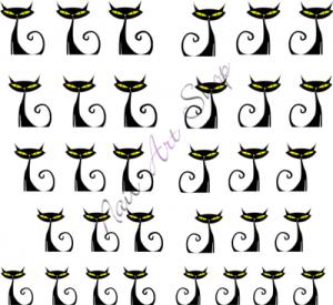 Vodolepka pro nail art VVZ-181