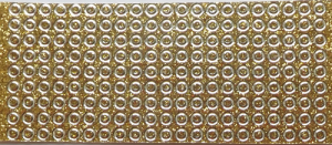 Creativ samolepky s glitry zlaté