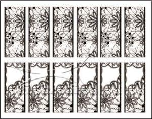 Vodolepka pro nail art RV-05