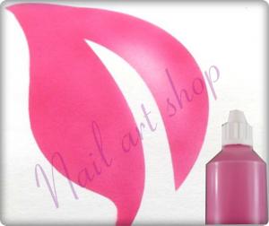 Airbrush barva na nehty růžová