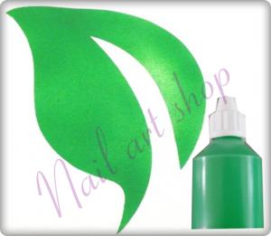 Airbrush barva na nehty zelená