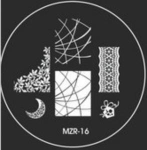 Destička pro razítkování MZR 16