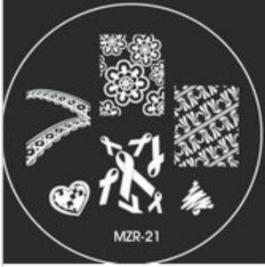 Destička pro razítkování MZR 21