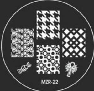 Destička pro razítkování MZR 22