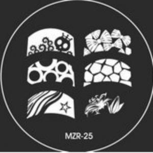 Destička pro razítkování MZR 25