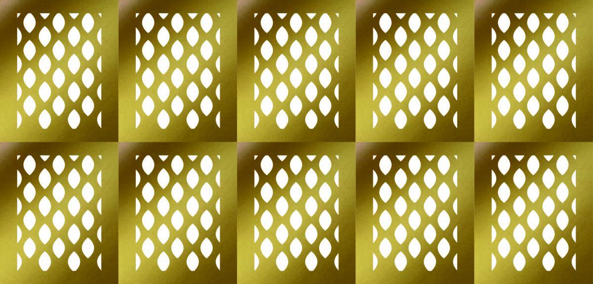 Samolepka - šablona vinyl 2 zlatá AKmedia