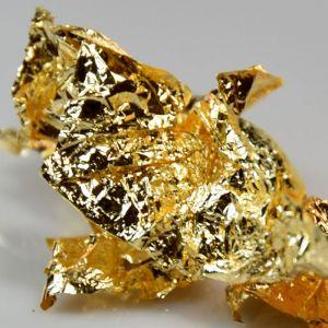 Fólie pozlátko zlatá