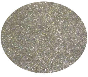 Diamantový prach stříbrná hologram