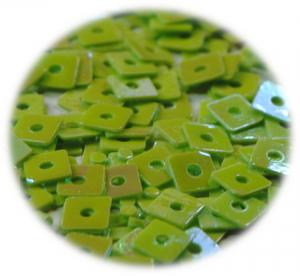 Kostičky s otvorem zelená světlá hologram